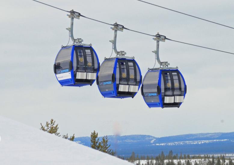 Levi Finland: Ski lift