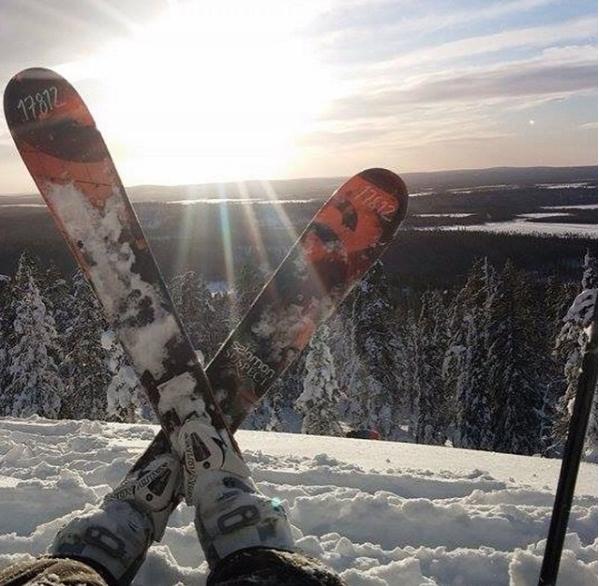 Levi Finland: skiing